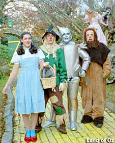 Land of Oz Cast