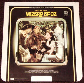 Wizard of Oz CED