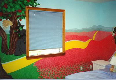 oz murals. Black Bedroom Furniture Sets. Home Design Ideas