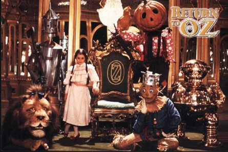 Return to Oz Cast Picture, Click here to read about other movies and books of Oz!