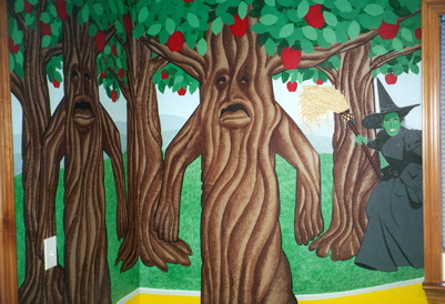 Haunted Trees Mural